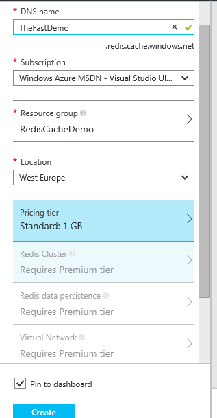 Get started with Azure Redis Cache in  Net – Peter in the