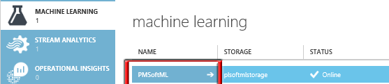 Call Azure Machine Learning Experiments from Stream Analytics