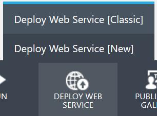 Deploy Web Service