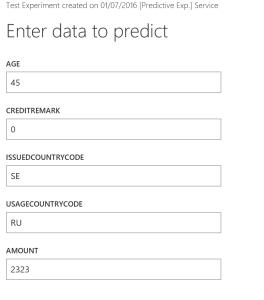 Test Web Service Form